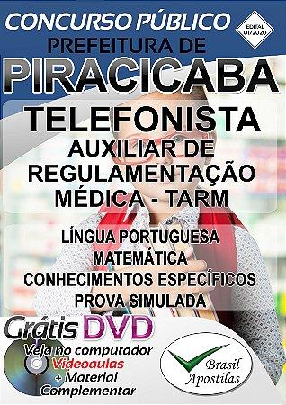 Piracicaba - SP - 2020 - Apostilas Para Nível Fundamental e Médio