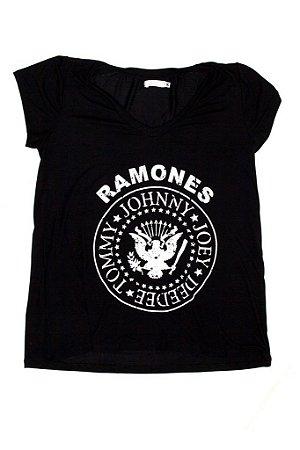 Tee Ramones Preta