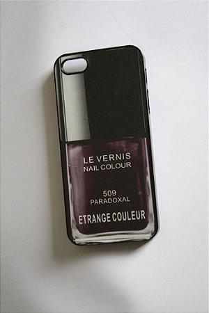 Capa iPhone 5 Chanel Le Vernis Etrange Couleur