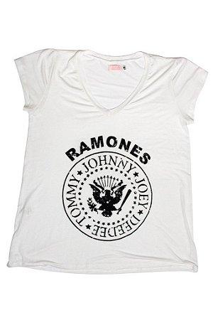 Tee Ramones Branca