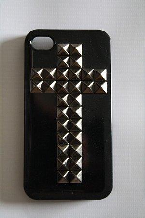 Capa iPhone 4 Spikes em Cruz