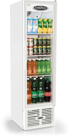 Expositor Refrigerado Vertical ERV-250 Conservex