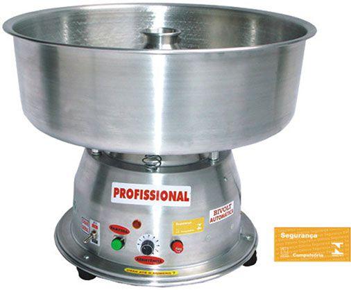 Máquina de Algodão Doce Clean Profissional - Bivolt Automática Ademaq