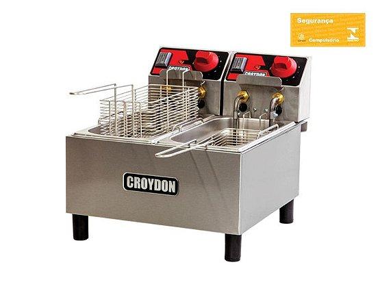 Fritadeira Elétrica 2x3 litros FC2A Croydon