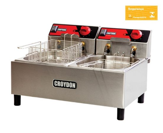 Fritadeira Elétrica 2x 4,5 litros FC2B Croydon