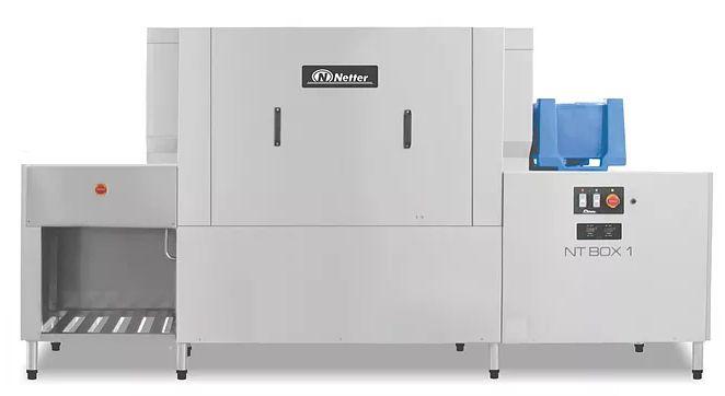Lavadora de Caixas Hotbox e Gns NT BOX 1- Netter