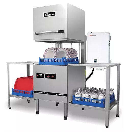 Lavadoras com aquecimento de água e gás NT 300 AEG - Netter
