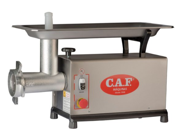 Picador de Carne CAF 10 SM Inox - Caf Máquinas