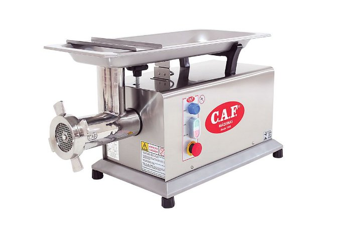 Picador de Carne CAF 22 Total Inox - Caf Máquinas