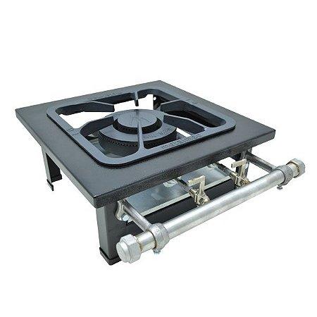 Fogão Industrial a Gás de Baixa Pressão M1 Mesa S2000 - Metal Maq