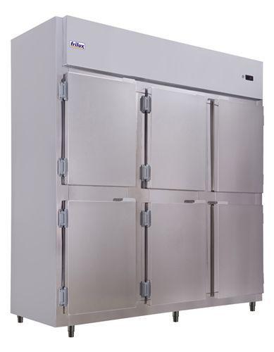 Geladeira Comercial 6 Portas Cegas em Aço Inox - Frilux
