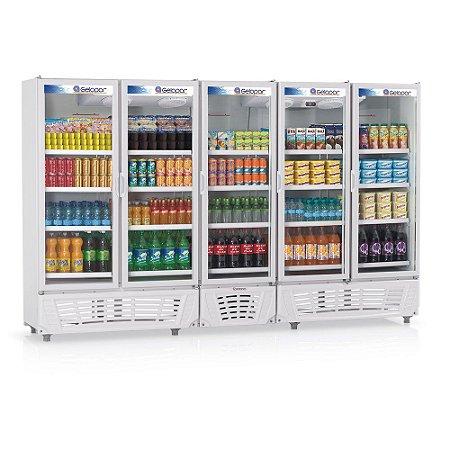 Expositor Refrigerado Vertical Visa Cooler - GRVC-2500 Gelopar