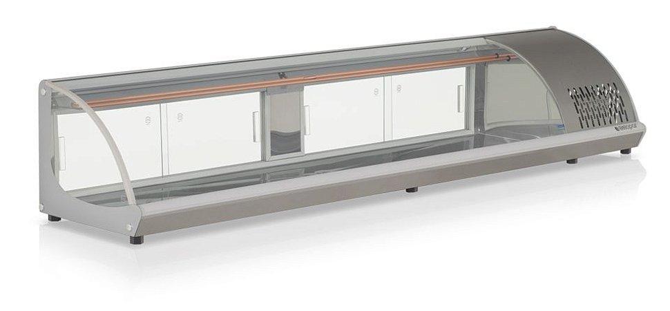Vitrine Refrigerada de Bancada GVRB-210PR - Gelopar