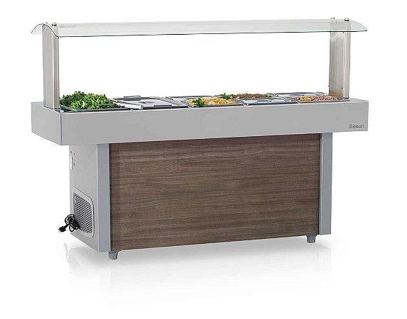 Mesa Refrigerada Linha Buffet Self-Service GMRA-150  - Gelopar