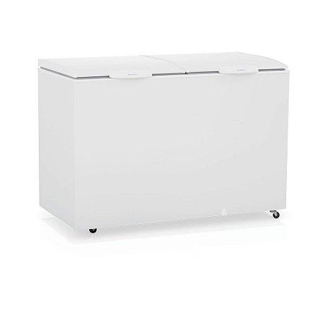 Conservador Refrigerador Horizontal de 2 Tampas de produtos congelados  - GHBS-410 Gelopar