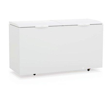 Conservador Refrigerador Horizontal de 2 Tampas de produtos congelados  - GHBS-510  Gelopar
