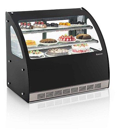 Vitrine Refrigerada Linha Gourmet Elegance Bancada - Ggeb-110 Gelopar
