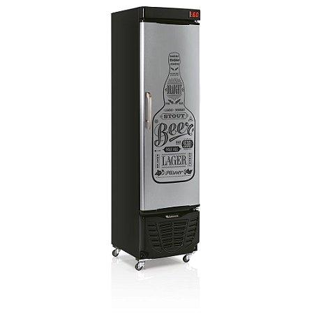 Refrigerador de Bebidas Cervejeira 230l Condensador estático - GRBA-230EGW Gelopar