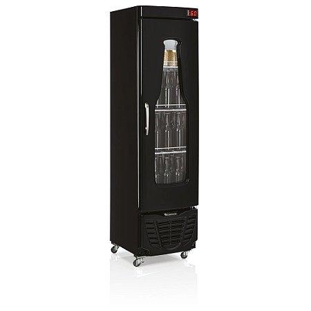 Refrigerador de Bebidas Cervejeira 230l Condensador estático - GRBA-230EV PR Gelopar
