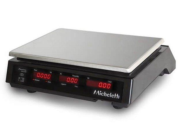 Balança Eletrônica Computadora Comercial PREMIUM 15kg - Micheletti