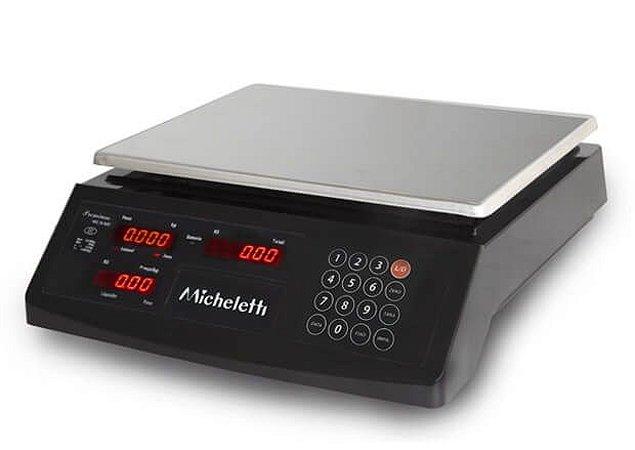 Balança Eletrônica Computadora Comercial PREMIUM 30kg - Micheletti