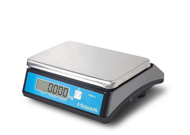 Balança Eletrônica Comercial Pesadora TAVOLA 12kg - Micheletti