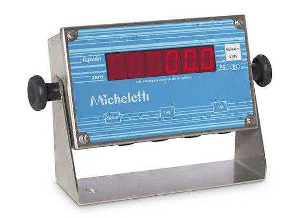 Indicador Digital LED INOX - MIC3-LED Micheletti