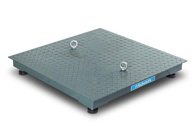 Balança Eletrônica Industrial Plataforma 3000kg - Micheletti
