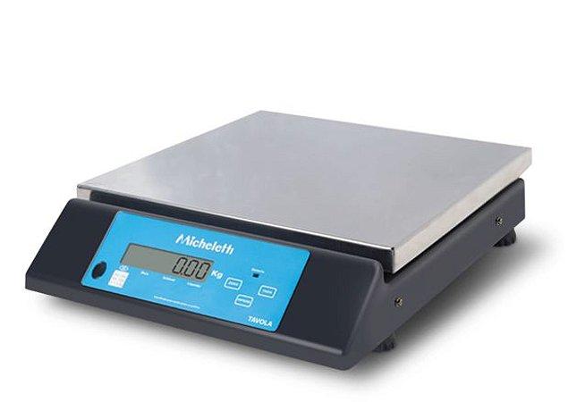 Balança Eletrônica Industrial Pesadora TAVOLA 30kg - Micheletti