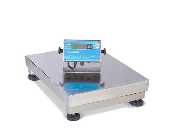 Balança Eletrônica Industrial de Inox 100kg - Micheletti