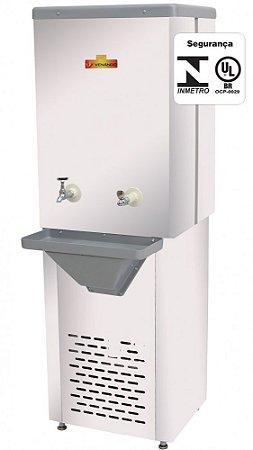 Recipiente Refrigerado para Água 100 Litros Inox - Venâncio