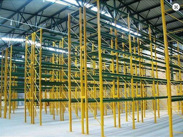 Sistema de Armazenagem Porta Paletes Armazenagem14 - Cristal Aço
