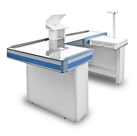 Check-out para Automação Comercial ref7 - Cristal Aço