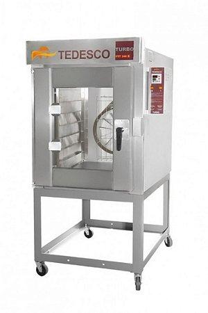 Forno Turbo Ftt-240 - 8 Esteiras - Tedesco