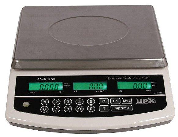 Balança Eletrônica Computadora ACQUA Premium 30KG - Upx Solution