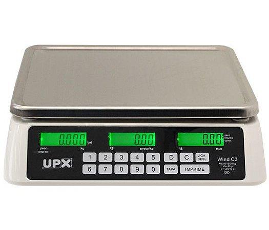 Balança Eletrônica Wind C3 - Branca 30 kg - Upx Solution