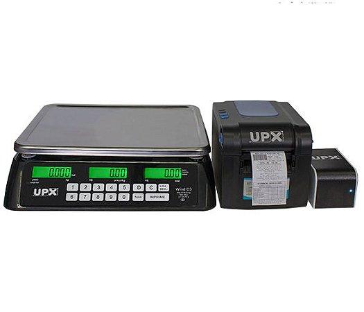 Balança Eletrônica Wind C3R 30 kg - Upx Solution
