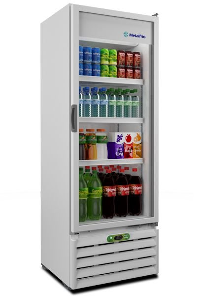 Refrigerador de Bebibas Soft Drinks VB40RE - Metal Frio