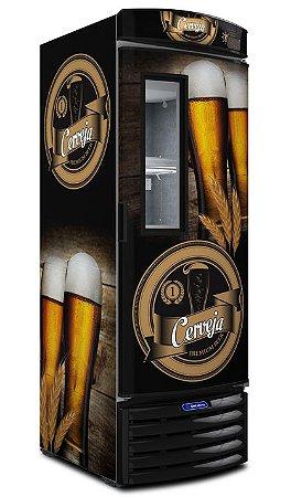 Cervejeira Comercial Vertical VN44FL - MetalFrio Menor Consumo e Melhor Desempenho do Mercado