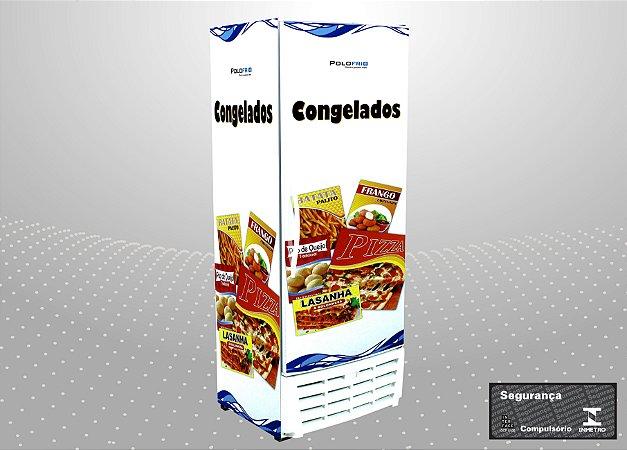 Visa cooler congelados 450L - Polofrio