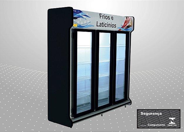 Conveniência classic 2,00 m Refrigeração e exposição - Polofrio