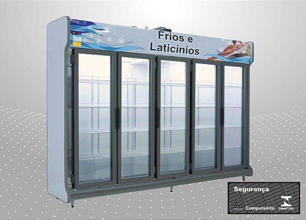 Conveniência europeu 3,00 m Refrigeração e exposição - Polofrio