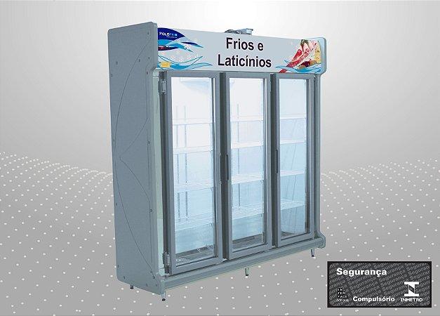 Conveniência premium 2,00 m Refrigeração e exposição - Polofrio