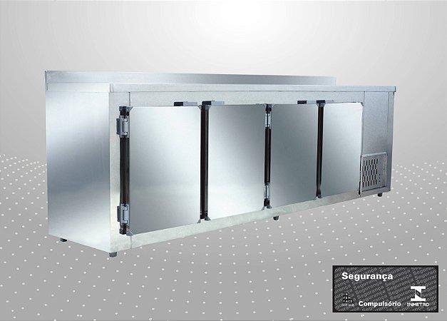 Balcão de encosto Refrigerado de 3,00 m - Polofrio