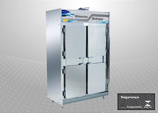 Geladeira Comercial 4 portas - Polofrio