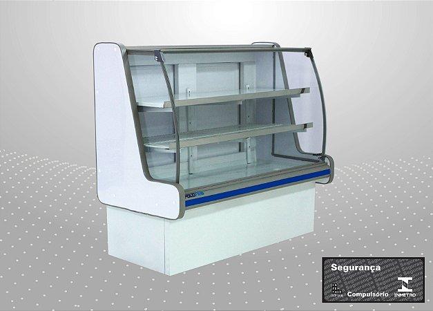 Balcão refrigerado pop luxo 1,50 m - Polofrio