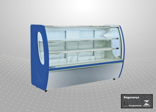 Balcão refrigerado premium 1,25 m - Polofrio