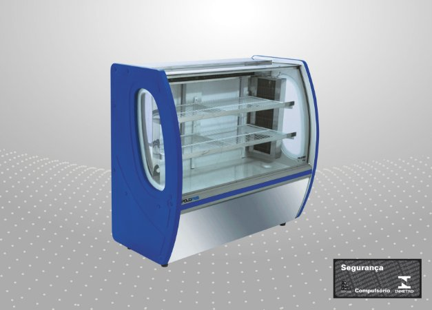 Vitrine refrigerada premium 1,50 m - Polofrio