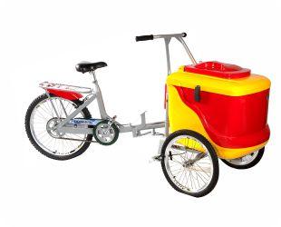 Carrinho Triciclo de Picolé 90 Litros para 350 a 400 picolés - Thermototal