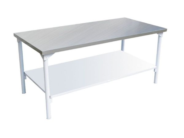 Mesa com prateleira inferior lisa - Innal